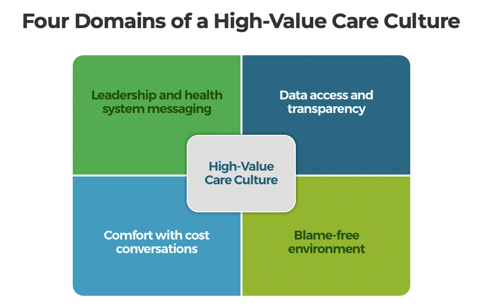 Four Domains Of A High Value Care Culture
